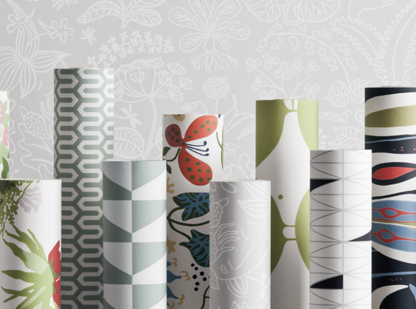 Scandinavian wallpaper vistastudioblog Scandinavian wallpaper and decor
